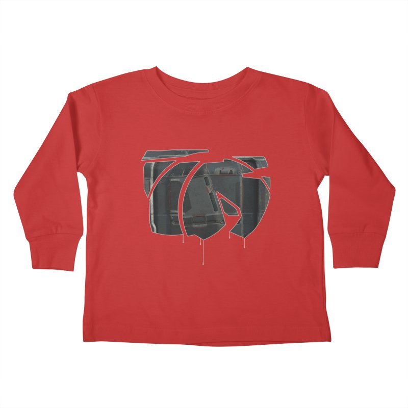 Graphic Design 06 Kids Toddler Longsleeve T-Shirt by KAUFYSHOP