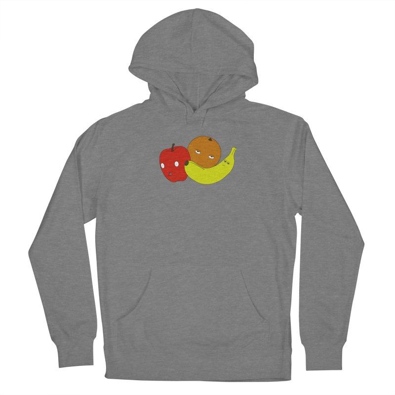 Apple Orange Banana Women's Pullover Hoody by KAUFYSHOP