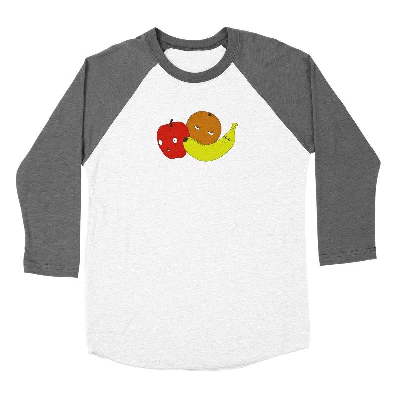 Apple Orange Banana Women's Longsleeve T-Shirt by KAUFYSHOP