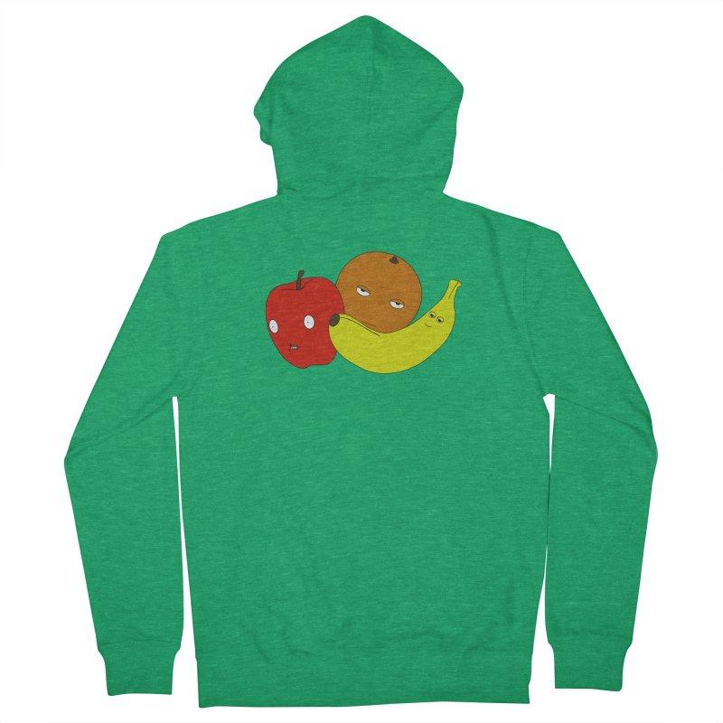 Apple Orange Banana Women's Zip-Up Hoody by KAUFYSHOP