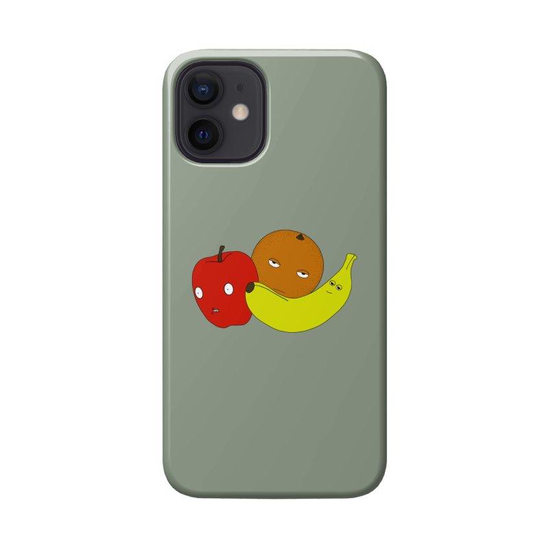 Apple Orange Banana Accessories Phone Case by KAUFYSHOP