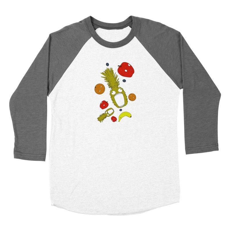 Falling Fruit Women's Longsleeve T-Shirt by KAUFYSHOP