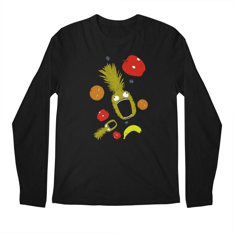 Falling Fruit Men's Regular Longsleeve T-Shirt by KAUFYSHOP