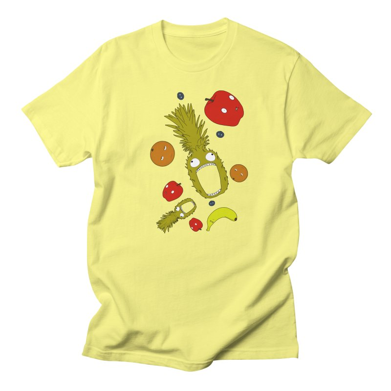 Falling Fruit Men's Regular T-Shirt by KAUFYSHOP
