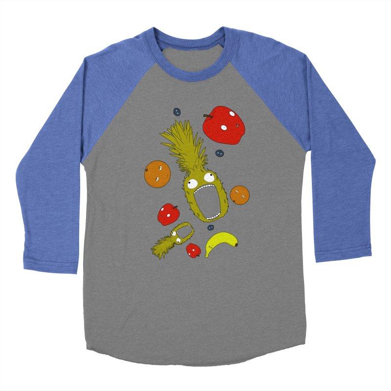 Falling Fruit Women's Baseball Triblend Longsleeve T-Shirt by KAUFYSHOP