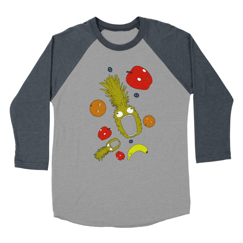 Falling Fruit Women's Baseball Triblend Longsleeve T-Shirt by KAUFYSHOP