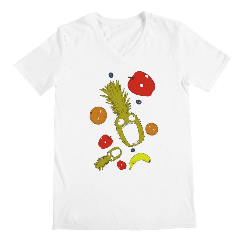 Falling Fruit Men's V-Neck by KAUFYSHOP