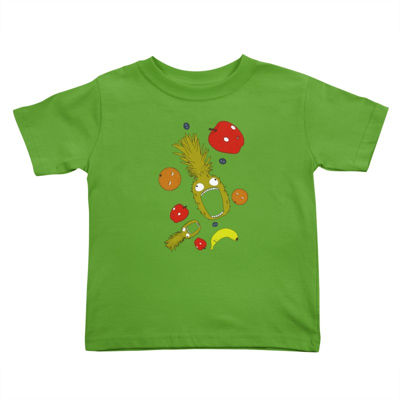 Falling Fruit Kids Toddler T-Shirt by KAUFYSHOP