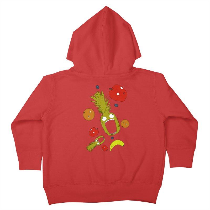Falling Fruit Kids Toddler Zip-Up Hoody by KAUFYSHOP