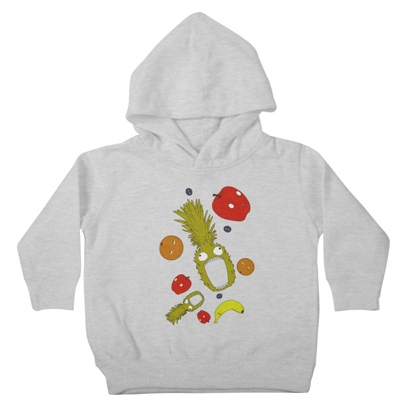 Falling Fruit Kids Toddler Pullover Hoody by KAUFYSHOP