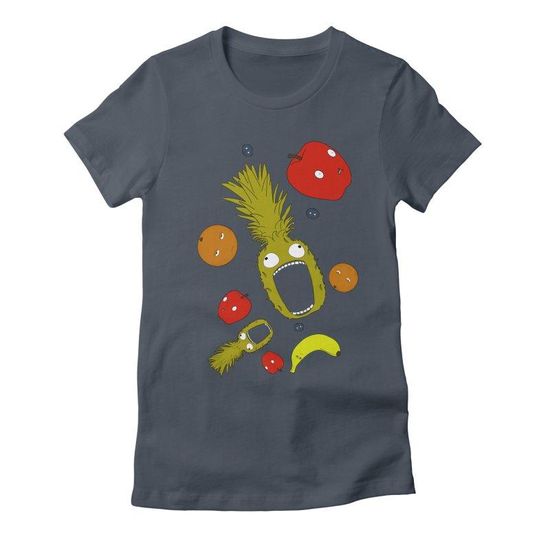 Falling Fruit Women's T-Shirt by KAUFYSHOP