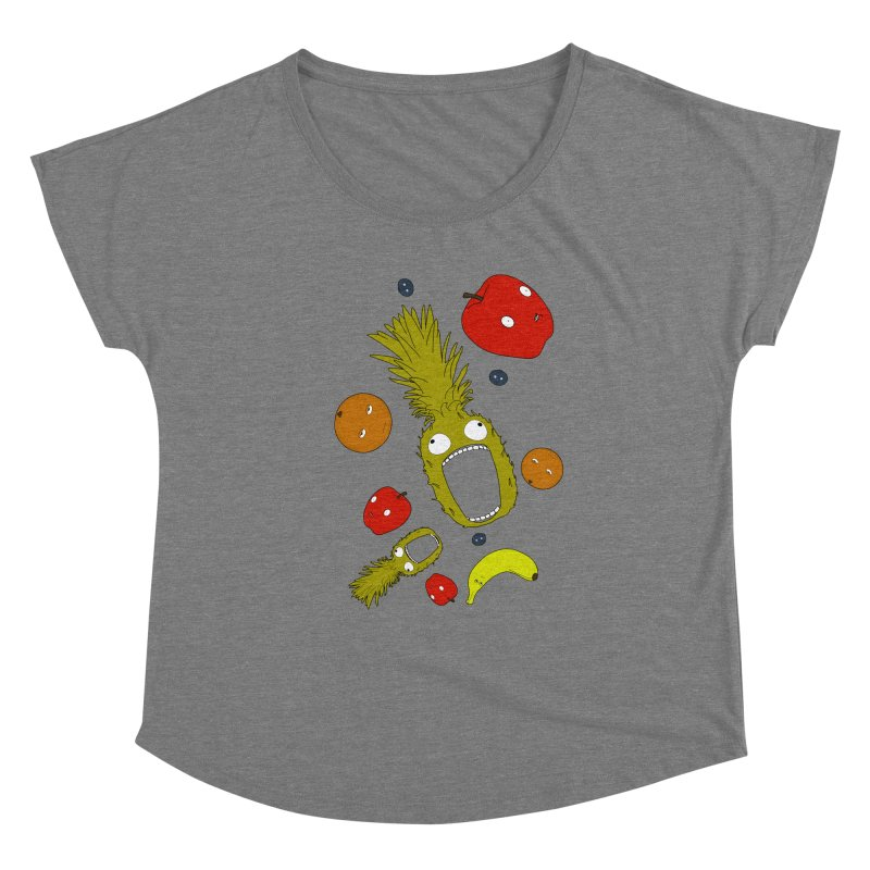 Falling Fruit Women's Scoop Neck by KAUFYSHOP