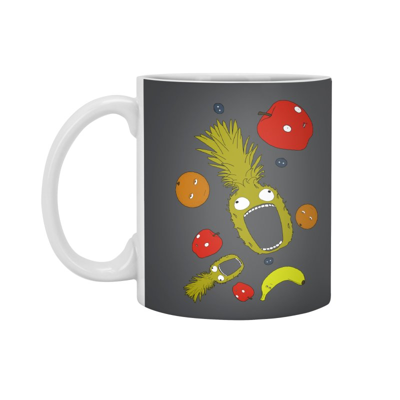 Falling Fruit Accessories Standard Mug by KAUFYSHOP