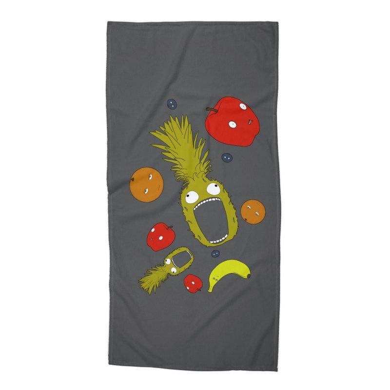 Falling Fruit Accessories Beach Towel by KAUFYSHOP