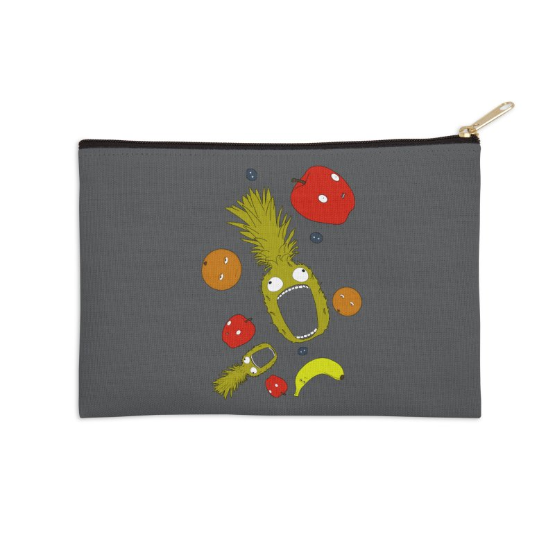 Falling Fruit Accessories Zip Pouch by KAUFYSHOP