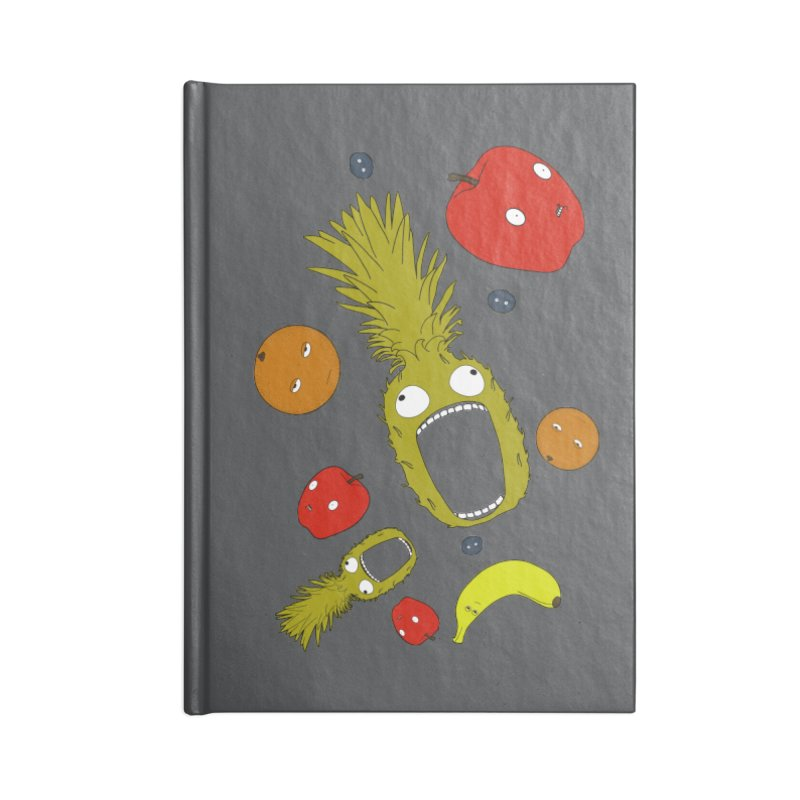 Falling Fruit Accessories Blank Journal Notebook by KAUFYSHOP