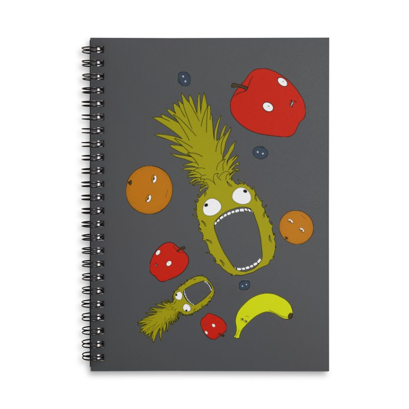 Falling Fruit Accessories Notebook by KAUFYSHOP