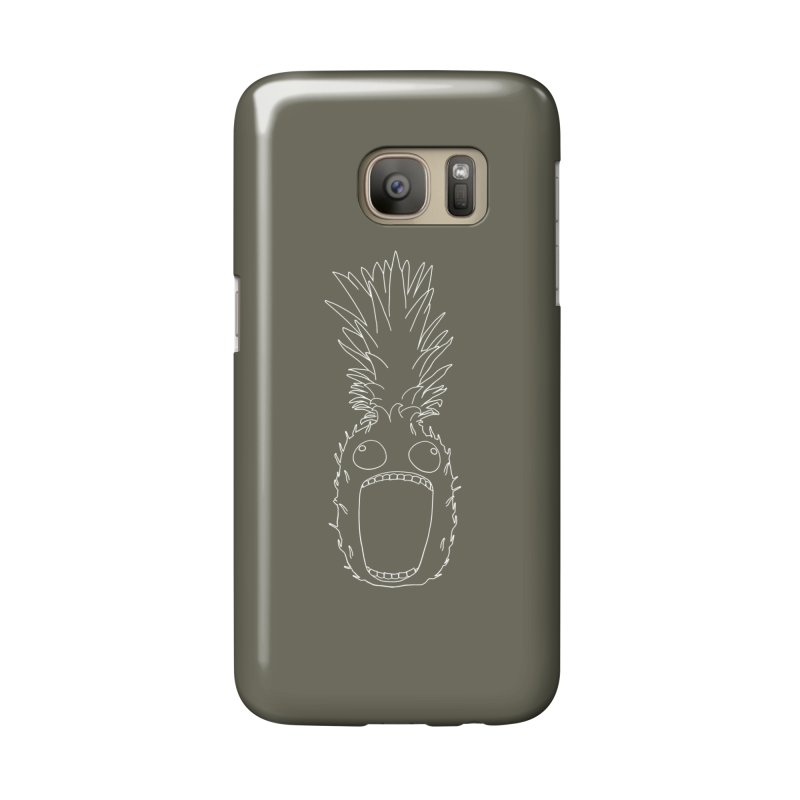 The Pineapple (outline) Accessories Phone Case by KAUFYSHOP