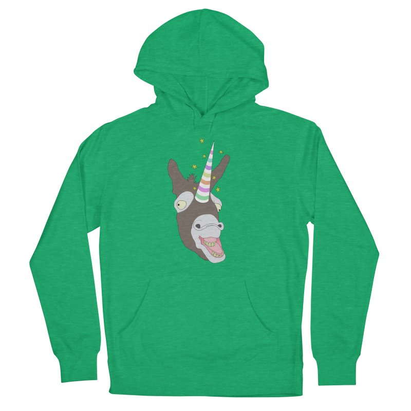 The Unicorn Women's French Terry Pullover Hoody by KAUFYSHOP