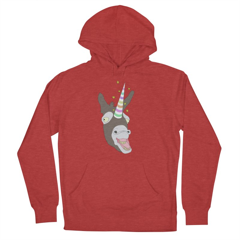 The Unicorn Men's French Terry Pullover Hoody by KAUFYSHOP