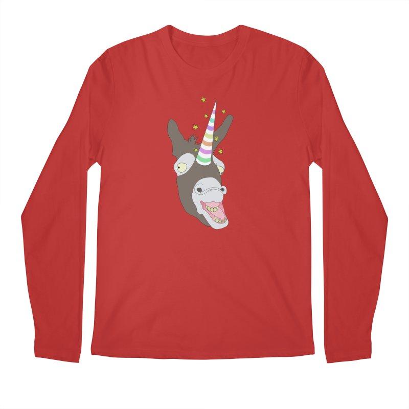 The Unicorn Men's Regular Longsleeve T-Shirt by KAUFYSHOP