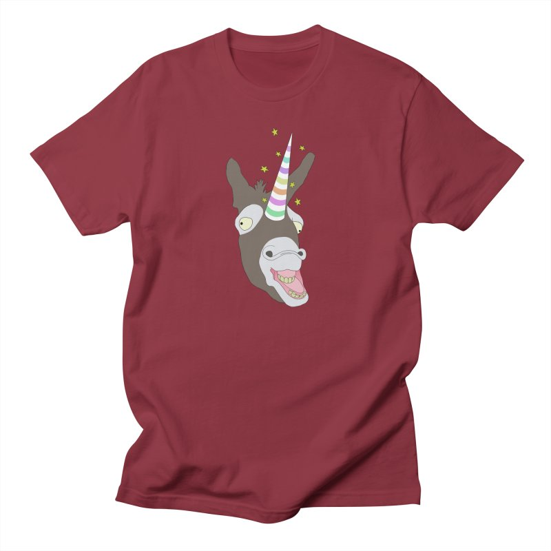 The Unicorn Men's T-Shirt by KAUFYSHOP