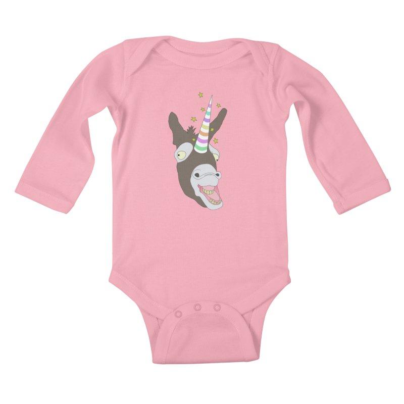 The Unicorn Kids Baby Longsleeve Bodysuit by KAUFYSHOP
