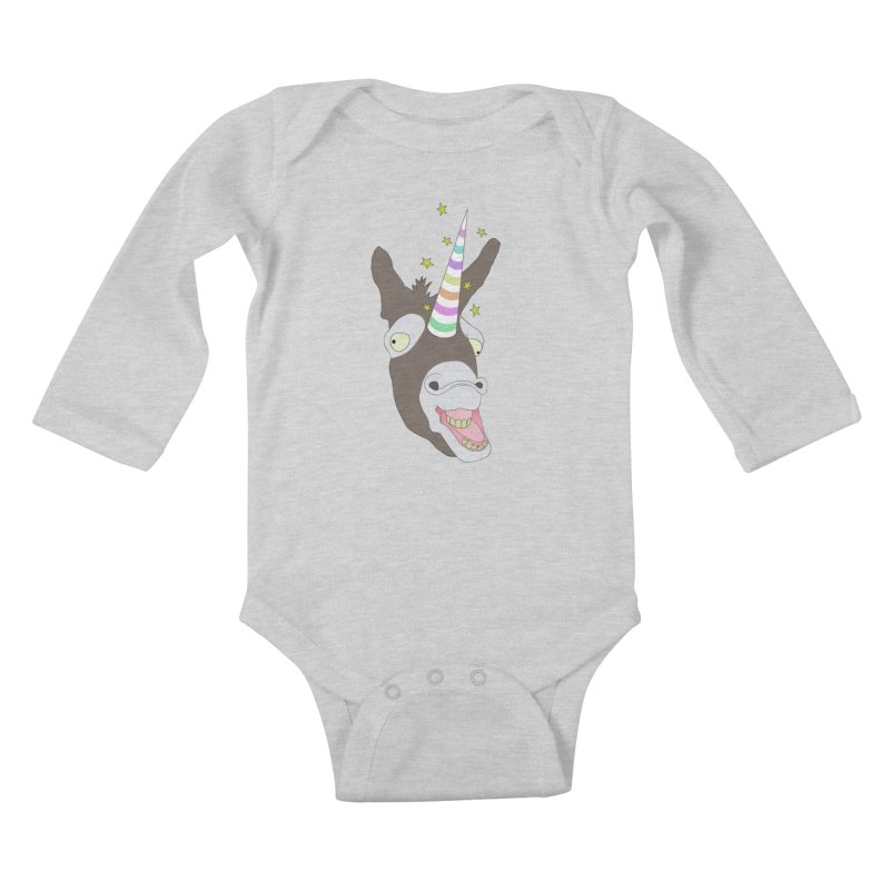 The Unicorn Kids Baby Longsleeve Bodysuit by KAUFYSHOP