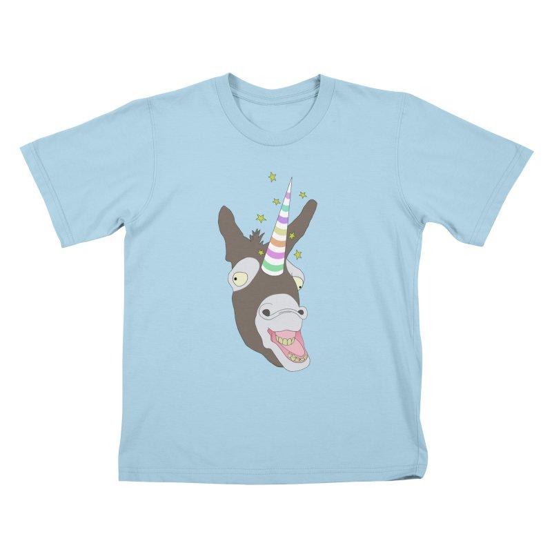 The Unicorn Kids T-Shirt by KAUFYSHOP