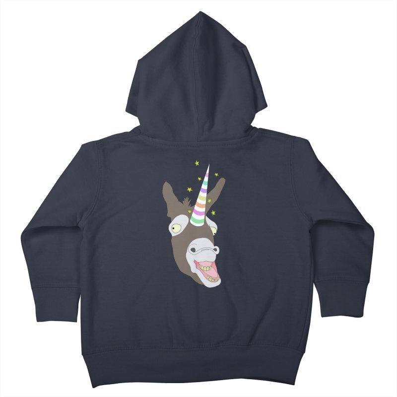The Unicorn Kids Toddler Zip-Up Hoody by KAUFYSHOP