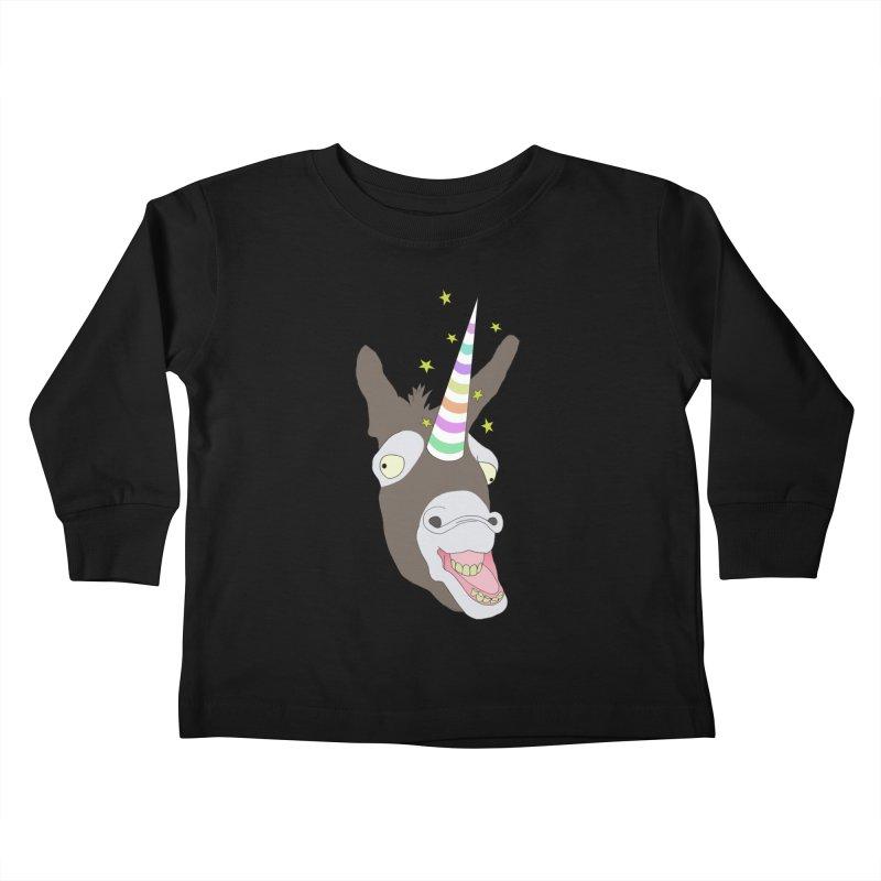 The Unicorn Kids Toddler Longsleeve T-Shirt by KAUFYSHOP