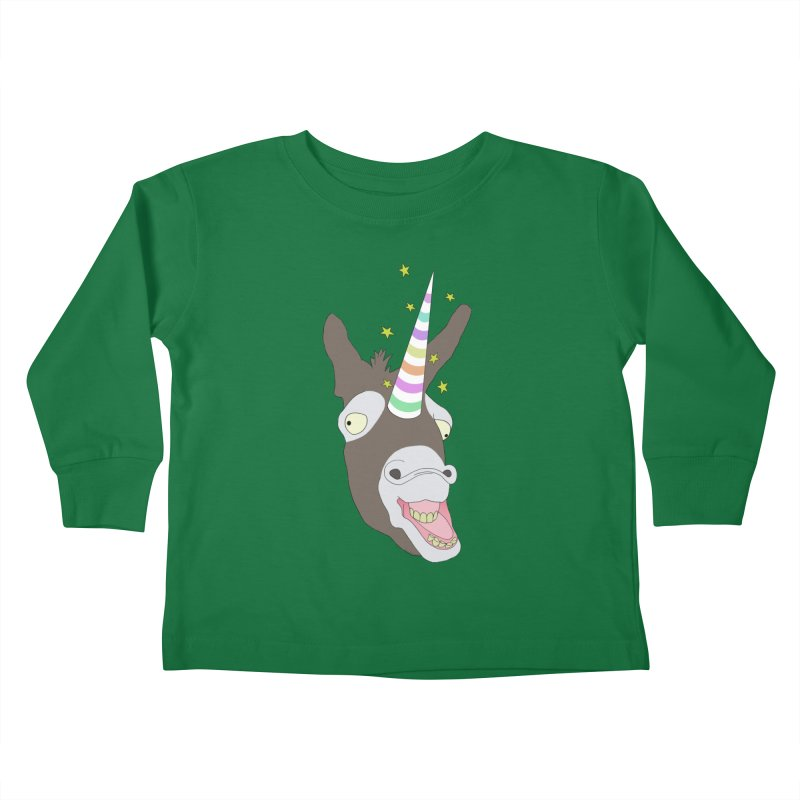The Unicorn Kids Toddler Longsleeve T-Shirt by KAUFYSHOP