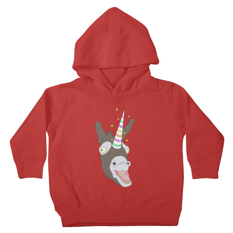 The Unicorn Kids Toddler Pullover Hoody by KAUFYSHOP