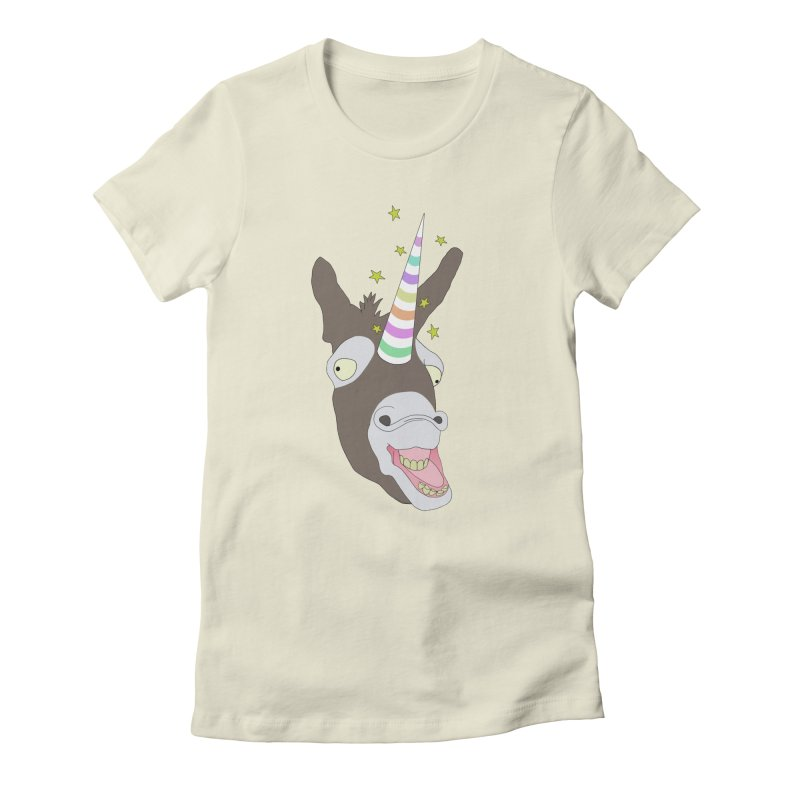 The Unicorn Women's Fitted T-Shirt by KAUFYSHOP