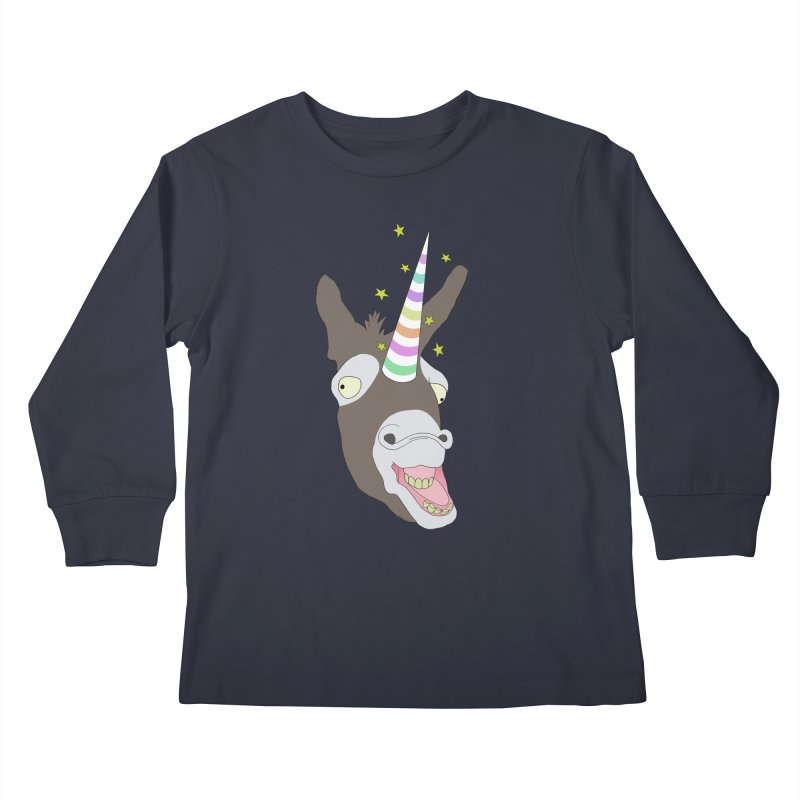 The Unicorn Kids Longsleeve T-Shirt by KAUFYSHOP