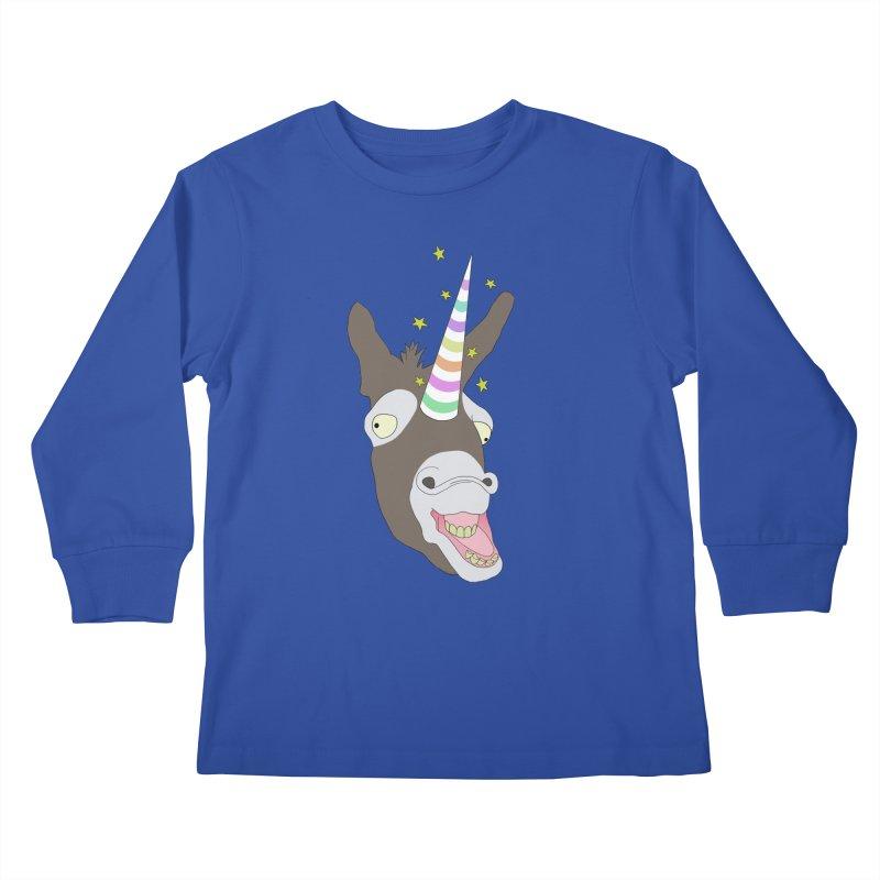 The Unicorn Kids Longsleeve T-Shirt by KAUFYSHOP