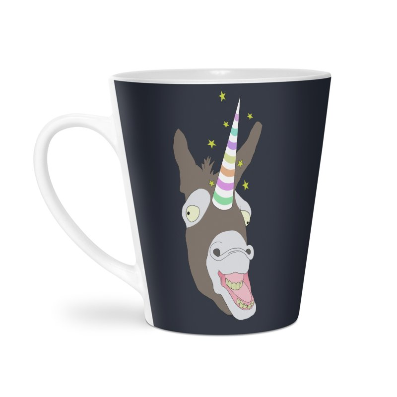 The Unicorn Accessories Latte Mug by KAUFYSHOP