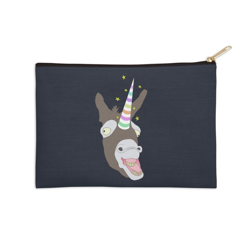 The Unicorn Accessories Zip Pouch by KAUFYSHOP