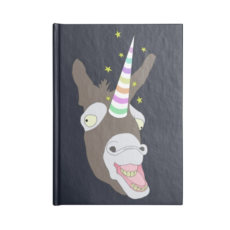 The Unicorn Accessories Blank Journal Notebook by KAUFYSHOP