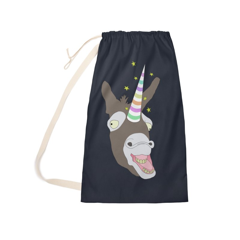 The Unicorn Accessories Laundry Bag Bag by KAUFYSHOP