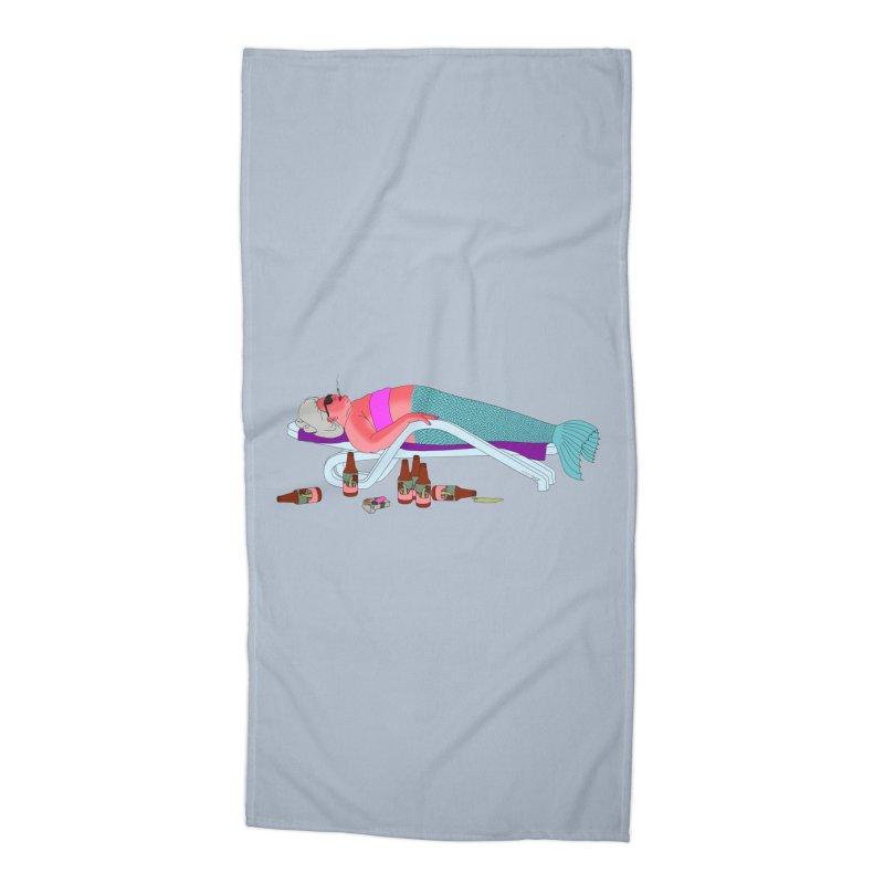 Mermaid Life Accessories Beach Towel by KAUFYSHOP