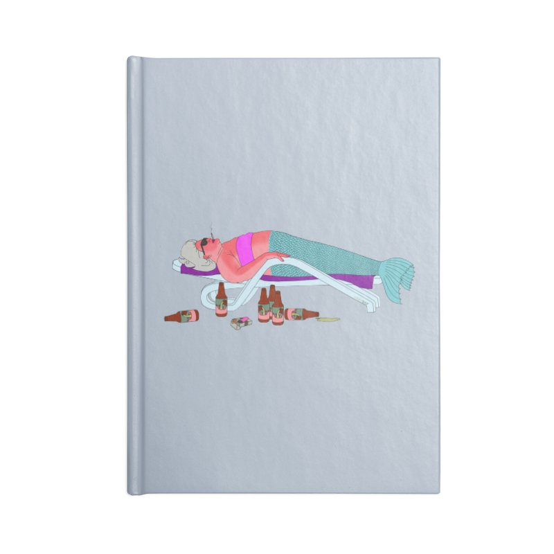 Mermaid Life Accessories Blank Journal Notebook by KAUFYSHOP