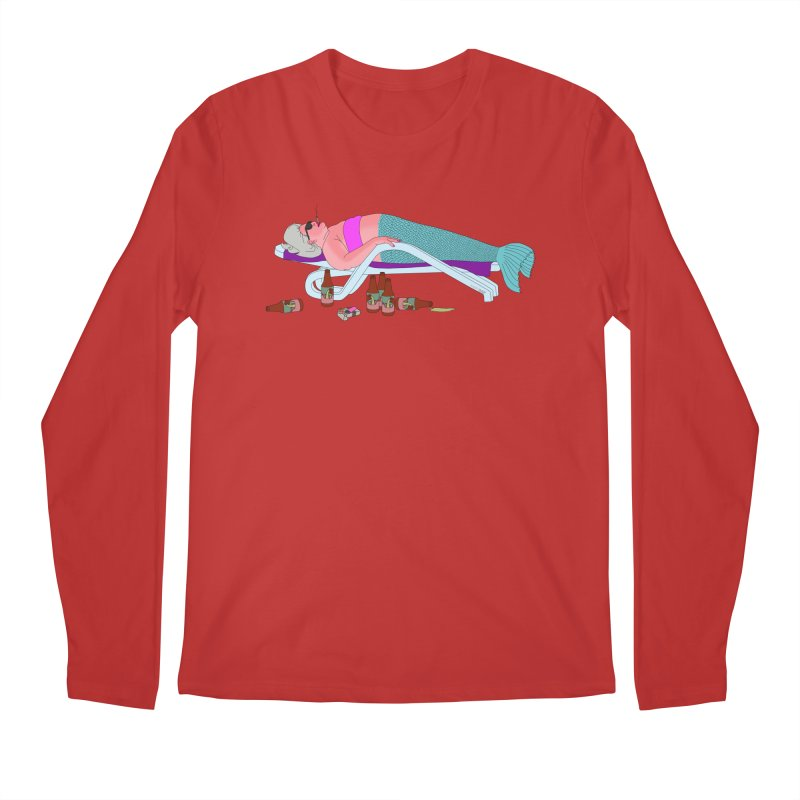 Mermaid Life Men's Regular Longsleeve T-Shirt by KAUFYSHOP