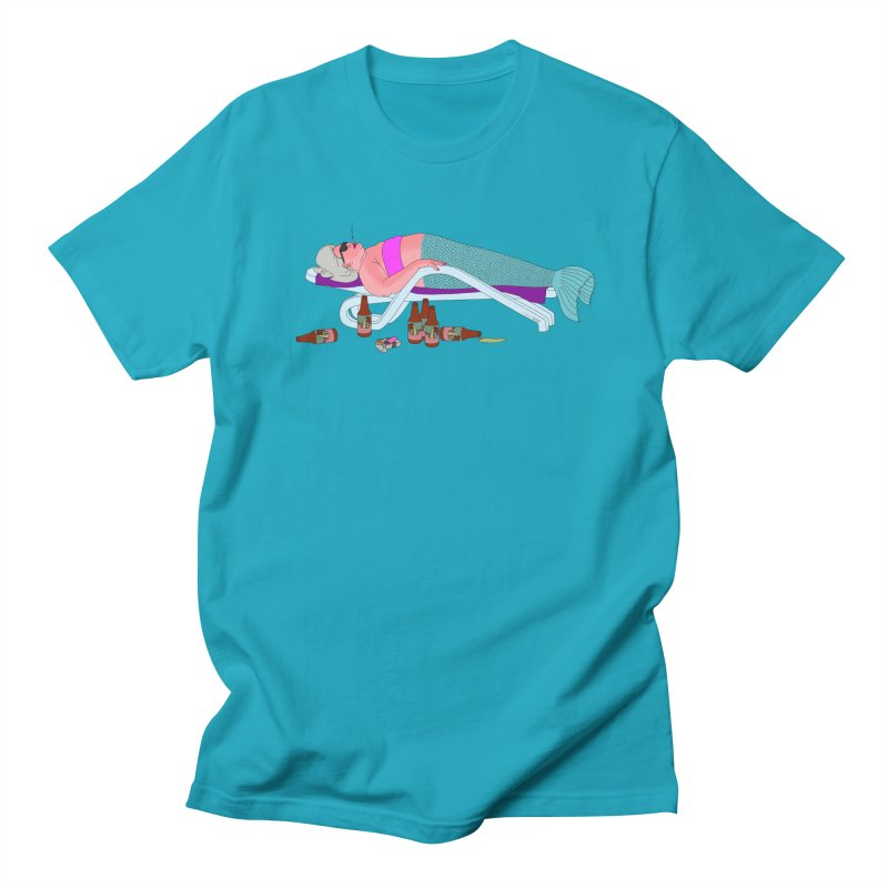 Mermaid Life Men's Regular T-Shirt by KAUFYSHOP