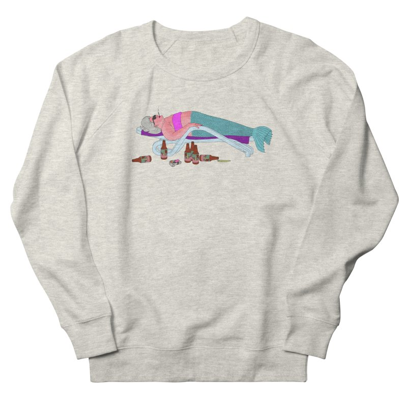 Mermaid Life Men's French Terry Sweatshirt by KAUFYSHOP