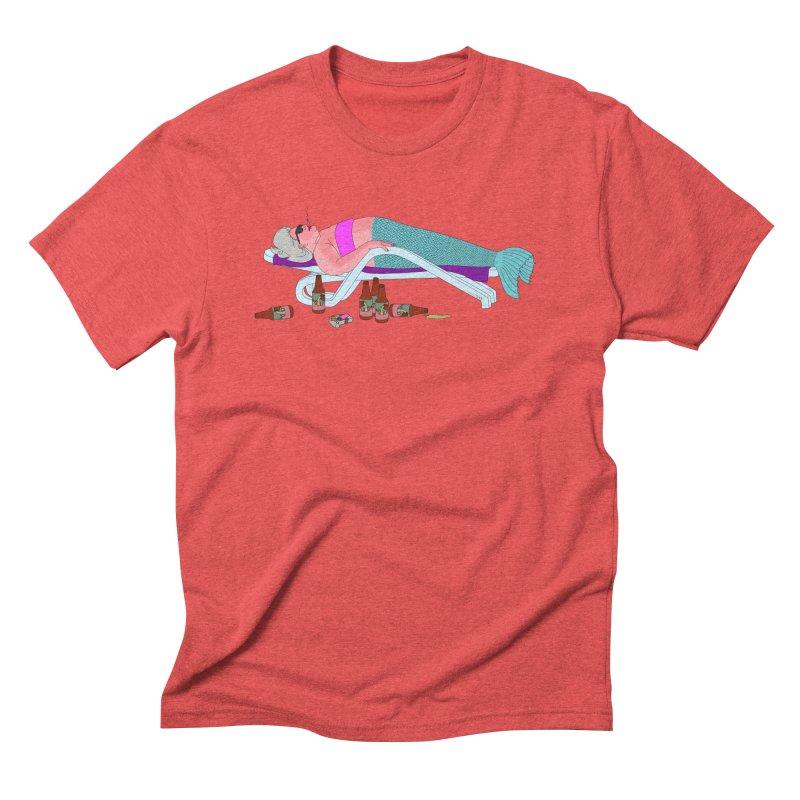 Mermaid Life Men's Triblend T-Shirt by KAUFYSHOP