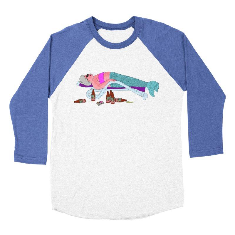 Mermaid Life Women's Baseball Triblend Longsleeve T-Shirt by KAUFYSHOP