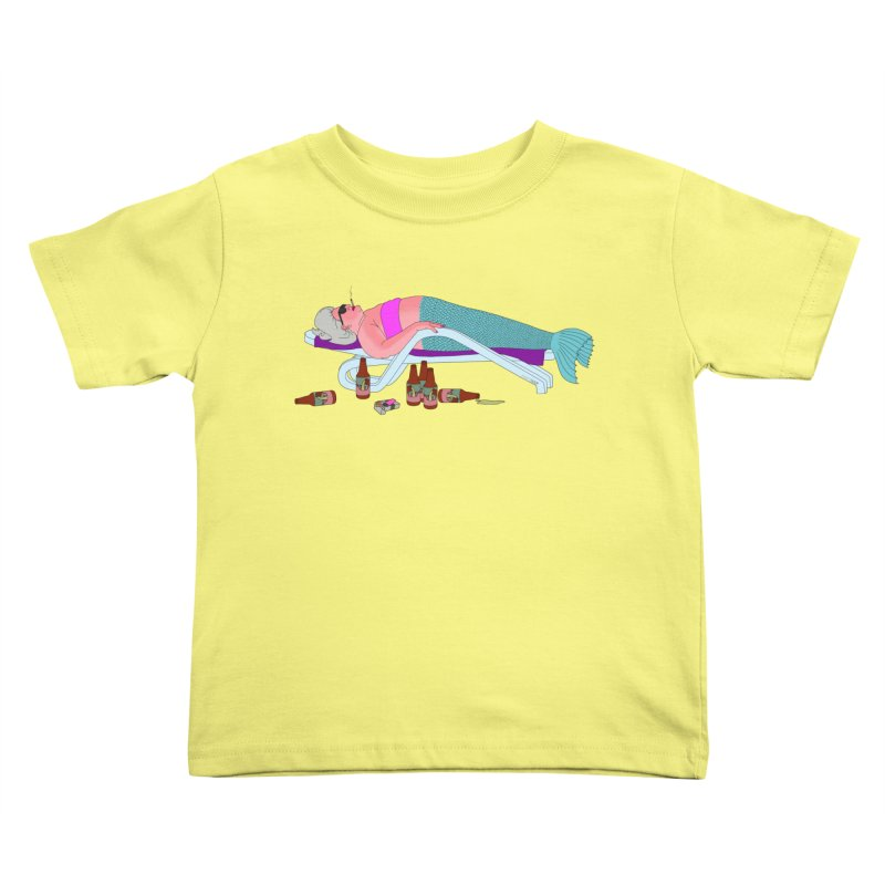 Mermaid Life Kids Toddler T-Shirt by KAUFYSHOP