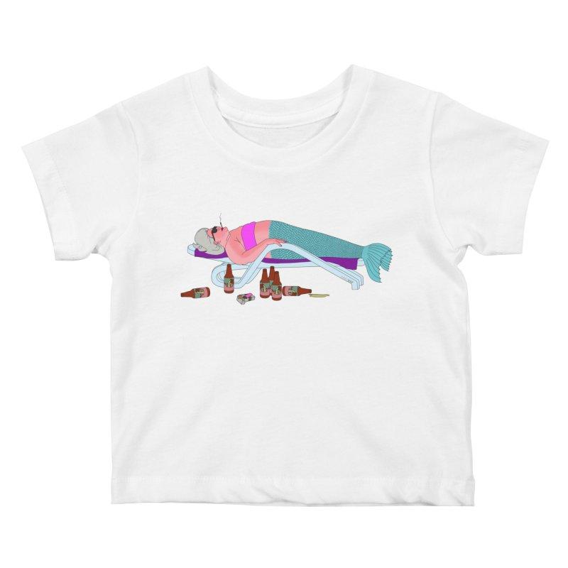 Mermaid Life Kids Baby T-Shirt by KAUFYSHOP