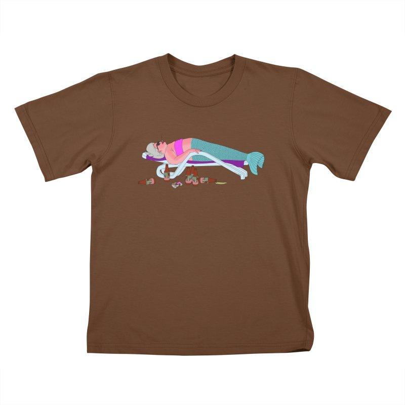 Mermaid Life Kids T-Shirt by KAUFYSHOP